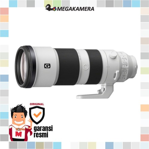 Foto Produk Lensa Sony FE 200-600mm f5.6-6.3 G OSS Lens dari Megakamera
