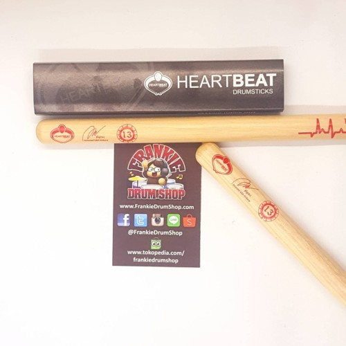 Foto Produk HeartBeat HBRIFH - Rifki 7 Kurcaci Artist Signature Hickory Stick Drum dari FrankieDrumShop