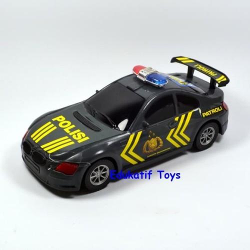 Foto Produk Mainan Mobil Polisi Tanpa Baterai Murah dari CowbeeStore