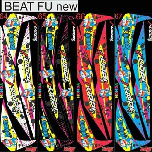 Foto Produk striping variasi beat new doraemon dari gunsticker