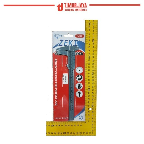 Foto Produk Alat pengukur panjang Caliper / Jangka sorong / Sigmat dari TOKO BESI TIMUR JAYA