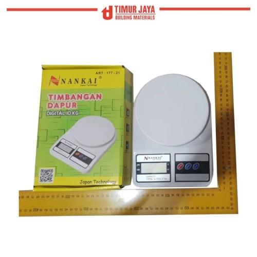 Foto Produk Scale Kitchen Timbangan Dapur Digital SF 400 Max 10 KG Bahan Kue camry dari TOKO BESI TIMUR JAYA