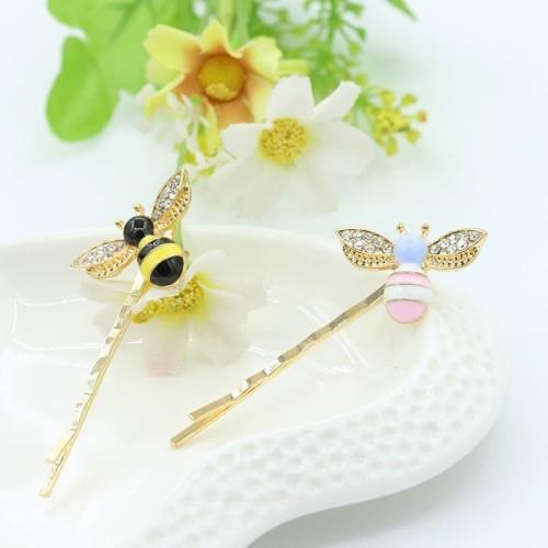 Foto Produk jepit rambut motif lebah Korea accessories cute bee hairpin jje023 - pink dari Oila