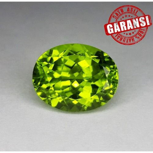 Foto Produk Batu Natural Green Peridot Garansi Asli dari Central Grosir Gemstone