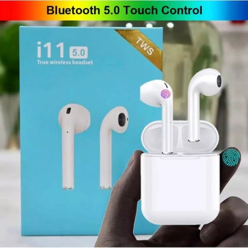 Foto Produk New i11 touch button wireless bluetooth 5.0 Airpods Earbuds dari Brother88cell