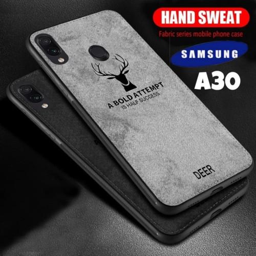 Foto Produk SoftCase Samsung Galaxy A30 Casing Samsung A30 - Hitam dari TalitaFaihaShop