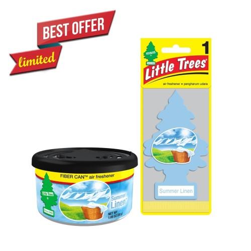 Foto Produk Summer Linen Package - Pengharum Mobil dan Ruangan Little Trees dari LITTLE TREES INDONESIA