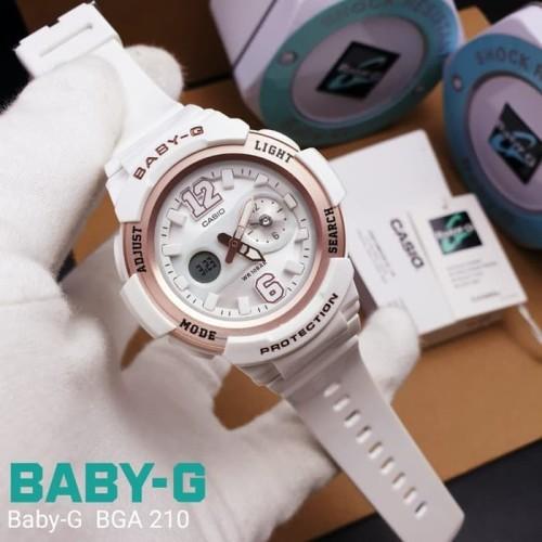 Foto Produk Jam Tangan Wanita Merk Casio Baby-G Type : BGA-210 Baterai Box Free W1 dari ENGGARO SHOP