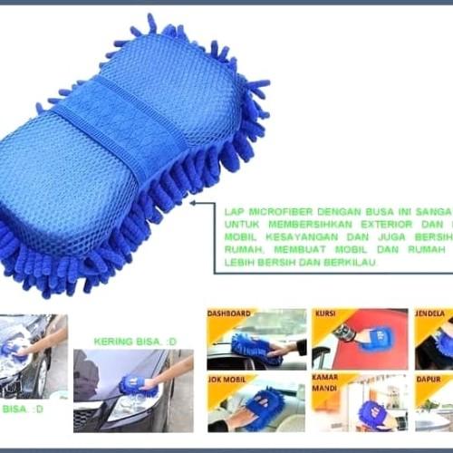 Foto Produk SPONS TEBAL BUSA CENDOL SOFT MULTIFUNGSI CUCI MOBIL MOTOR DAPUR BC806 dari fast shop 89