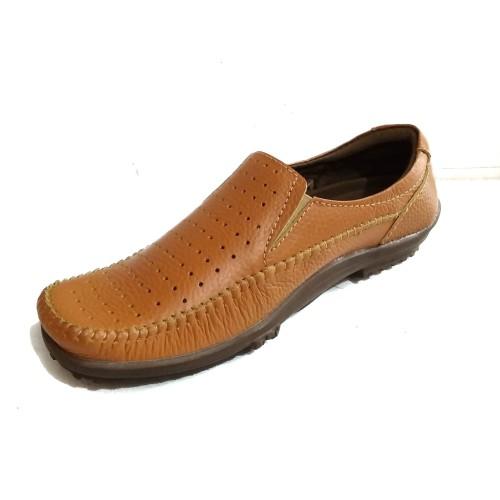 Foto Produk sepatu santai pria kulit asli FKR 02 - Tan, 38 dari Fashion Bandung 987
