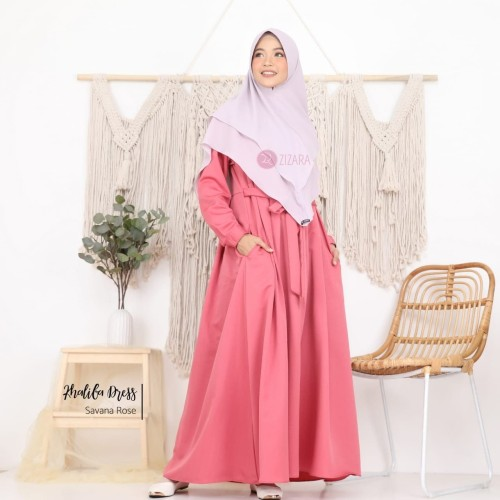 Foto Produk baju muslim wanita zizara khafifa dress dari Gamis Chic