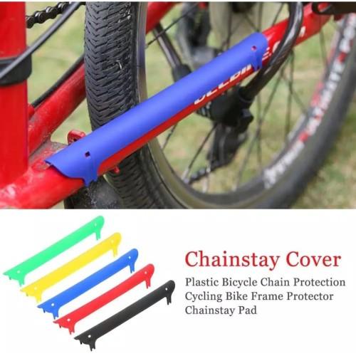Foto Produk Pelindung Rantai/frame Sepeda Chain Protector - PP Hitam dari Hobbyfit & Beyond