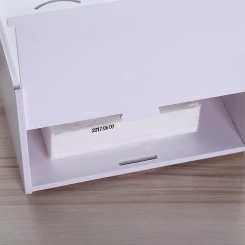 Foto Produk DIY 2 in 1 Kotak Tisu Kosmetik Box Tissue Cosmetic Tempat Tisu A528 dari Raka Here_shop