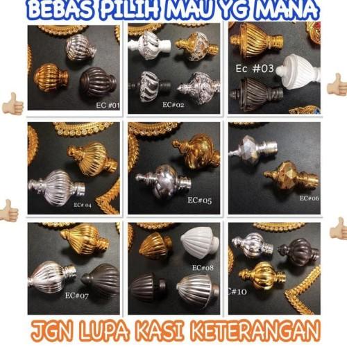Foto Produk Rel gorden rollet / tiang gordeng / rel gordyn / batang gorden dari Raka Here_shop
