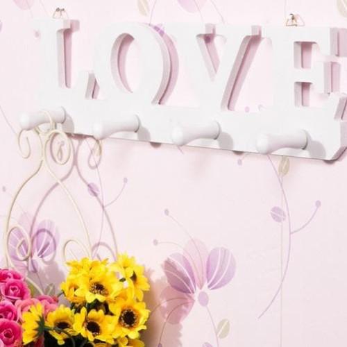 Foto Produk LOVE Rak dinding vintage 37CM X 9CM dari Raka Here_shop