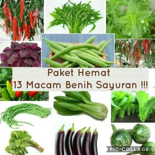 Foto Produk Paket Hemat Benih 13 Jenis Sayuran Plus Bonuss dari Raka Here_shop