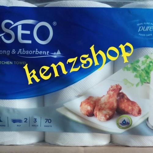 Foto Produk TISSUE PASEO ELEGANT KITCHEN TOWEL 3IN1 / TISSUE DAPUR / TISSUE MINYAK dari Raka Here_shop
