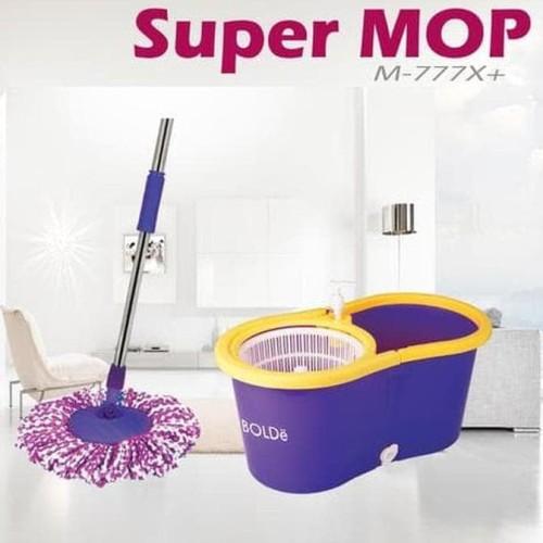 Foto Produk Alat Pel Super Mop BOLDe M-777X+ (Botol + Lubang Drainase) - Asli dari Raka Here_shop