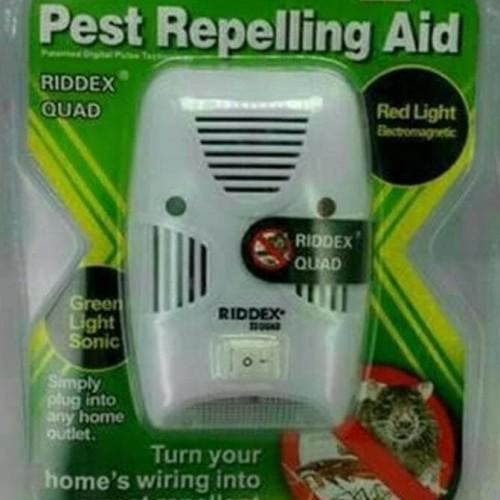 Foto Produk Riddex Quad / Pengusir Lalat , Kecoa , Nyamuk , Tikus / Pest Repelling dari Raka Here_shop