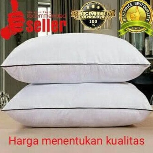 Foto Produk promo exclusive luxury Bantal hotel bintang 5 alternatif bulu angsa dari Raka Here_shop
