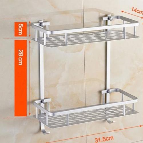 Foto Produk Rak Dinding Toilet Kamar Mandi Aluminium A289 dari Raka Here_shop