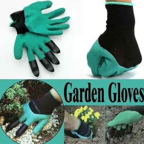 Foto Produk Sarung Tangan Berkebun / Garden Gloves / Sarung Tangan Dengan Cakar dari Raka Here_shop