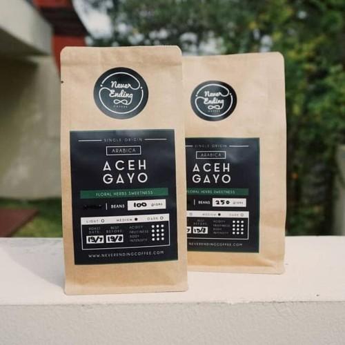 Foto Produk HOT SALE Arabica Aceh Gayo 100gr Terjamin dari jenifferlee