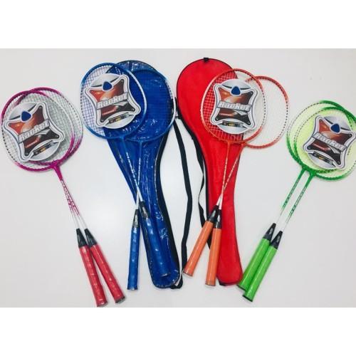 Foto Produk Raket badminton anak PEMULA isi 2 (sepasang) murah - Batangan dari Gojek olshop
