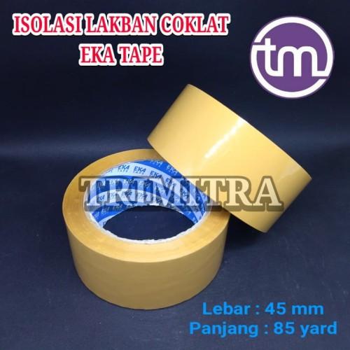 Foto Produk EKATAPE ISOLASI LAKBAN SELOTIP COKLAT TAN BROWN EKA TAPE BY DAIMARU dari Trimitra Surabaya