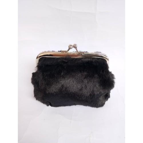 Foto Produk Dompet Bulu - Dompet Koin Ukuran 10x12 Halus dari Pelanggan Setia
