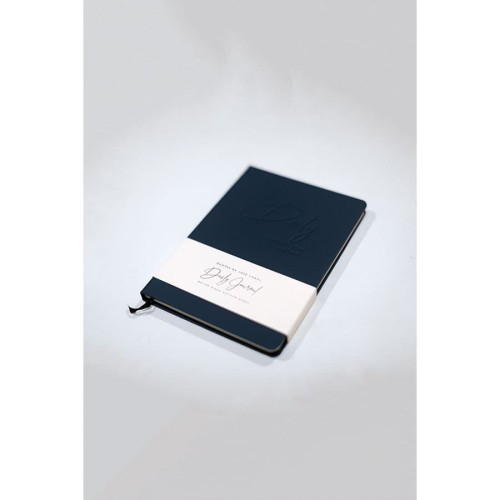 Foto Produk Daily Journal (Note Book) Jose Carol (Blank Unlined Pages) Navy dari Insight Unlimited