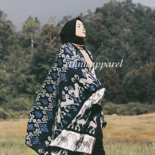 Foto Produk Kain Tenun Blanket Etnik Sumba BLH02 dari ethnicapparelstore