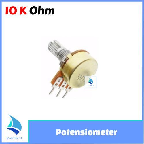 Foto Produk Potensiometer 10K - Mono Potensio Meter Linear Resistor B10K 10 K dari RAFTECH