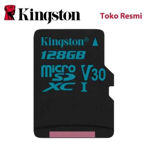 Foto Produk Kingston MicroSD Card Canvas Go! Class 10 MicroSDXC 128GB dari Kingston Official Store