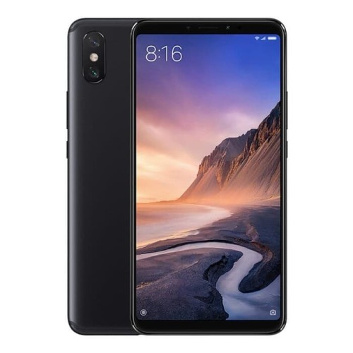 Foto Produk XIAOMI MI MAX 3 RAM 4/64 GB GLOBAL VERSION GARANSI DISTRIBUTOR - BLACK dari Indonesian Officialstore