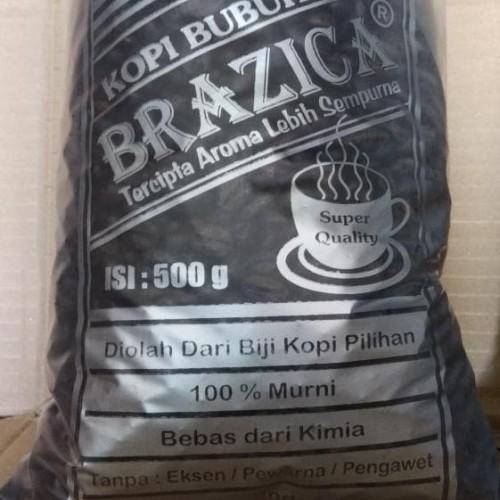 "Foto Produk HOT SALE Kopi Lampung 1KG ""BRAZICA"" Ekonomis / Silver Quality dari jenifferlee"