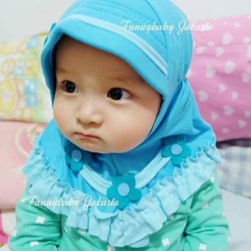 Foto Produk jilbab bayi / kerudung bayi / hijab bayi 0-12 bulan dari Diatmika _oltore