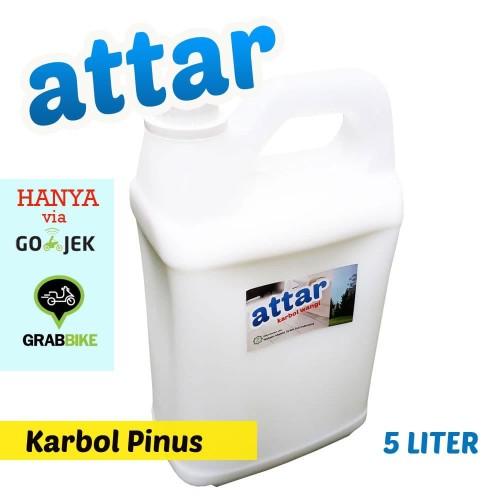 Foto Produk Khusus GOSEND/GRAB - Karbol Wangi ATTAR 5 Liter - Pembersih Lantai dari Tasneem