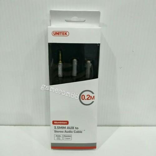 Foto Produk Unitek Kabel Audio Male to Mic-Speaker dari Gamecom88