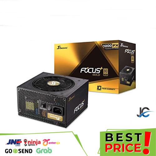 Foto Produk Seasonic Focus Plus Gold FX-1000 - 1000W Full Modular - 80+ Gold Certi dari JunaCom
