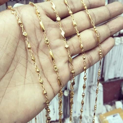 Foto Produk Kalung Titanium Gold Variasi dari Putra Jepara Acc