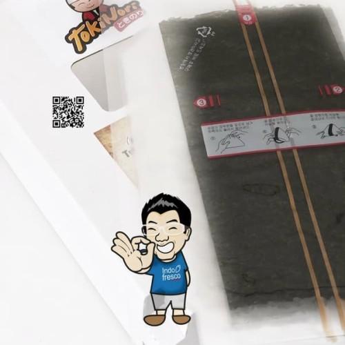 Foto Produk Tokinori Triangle Onigiri Nori Wrapper- Roasted Seaweed 10 lembar dari IndoFresco