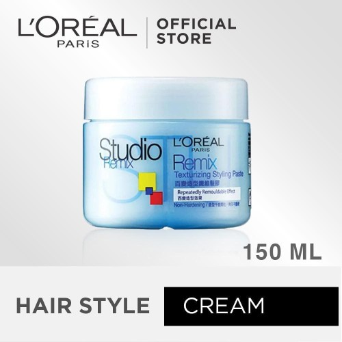 Foto Produk L'OREAL PARIS STUDIO LINE REMIX CREAM REGULAR - 150ML TERLARIS dari AOS the Beauty