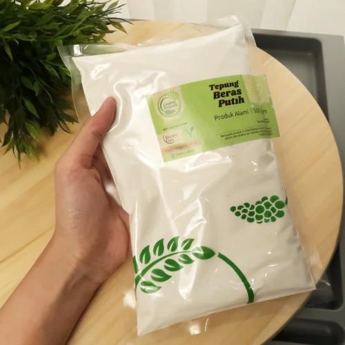 Foto Produk Tepung Beras Putih 500gr - Lingkar Organik dari Quinn Land