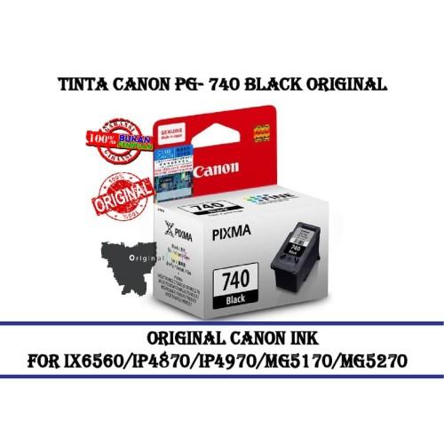 Foto Produk Tinta Canon Pg- 740 Black Original - Hitam dari CCK2303