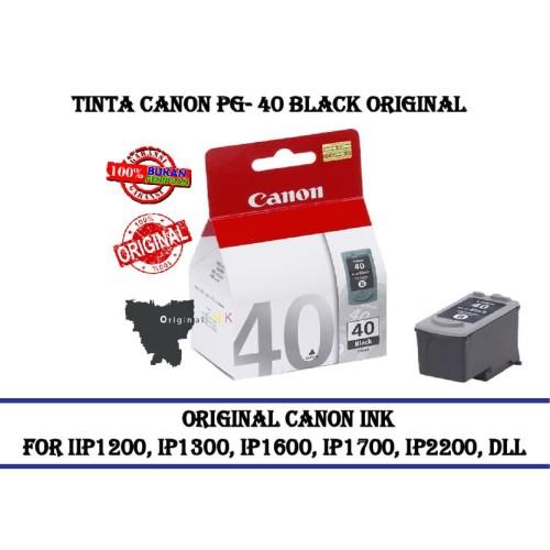 Foto Produk Tinta Canon Pg-40 Black Original Ink Catridge Black dari CCK2303