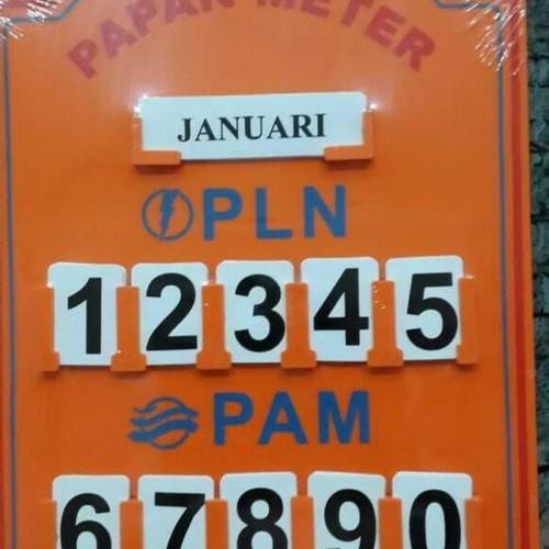 Foto Produk Papan Meteran PLN PAM dari LAstore-new