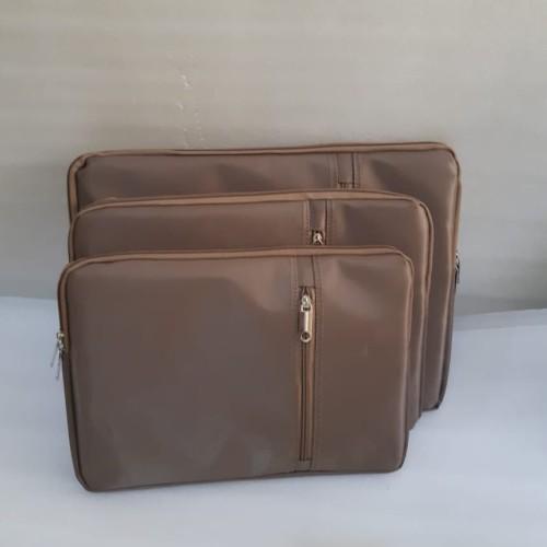 Foto Produk Sarung Laptop/Sleeve case/Tas Laptop/Softcase laptop 14 dan 11.6 inch - Cokelat dari hanz687