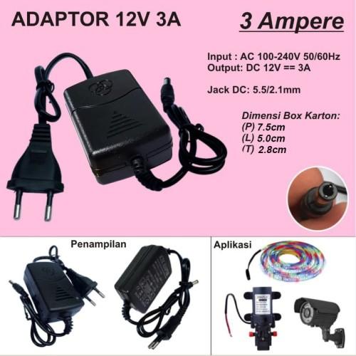 Foto Produk Adaptor 3A 12V dari Toko Mitra Abadi