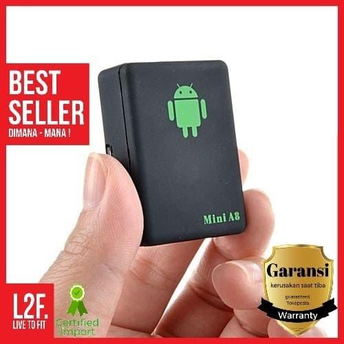 Foto Produk Alat Sadap Suara Mini A8 GSM GPRS GPS / Spy GPS Tracker Mini A8 dari Live to Fit Indonesia
